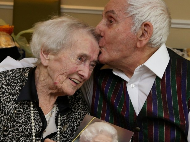 Couple celebrating incredible 76-years of marriage reveal their secret to a happy marriage..