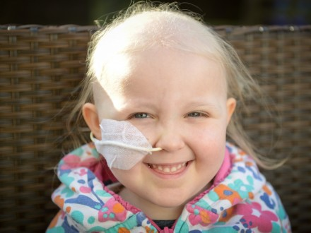 Four-Year-Old Girl Fighting For Her Life After Cough Turned Out To Be Cancer