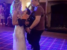 Mum Shares First Wedding Dance With Disabled Son After Stepdad Builds A Special Harness
