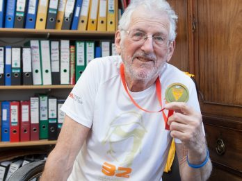 Pensioner Becomes Oldest Brit To Complete Sahara Ultra-Marathon - Breaking Record Held By Sir Ranulph Fiennes