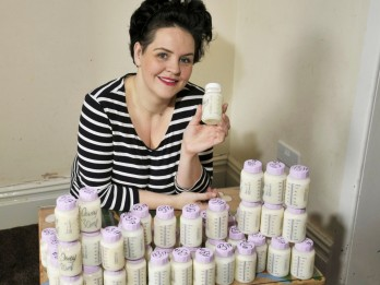 Surrogate Mum Donates 100L Of Breastmilk In Three Months