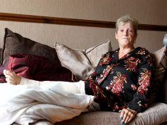 Gran Is Maimed By Savage Staffie-Type Dog After Biting 'Down To Her Bone'