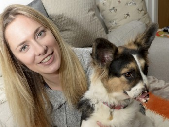 Woman Fundraising To Get A New Nose For Her Dog