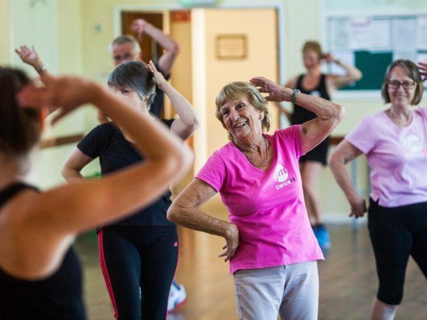 Meet Britain's Oldest Zumba Dancer!