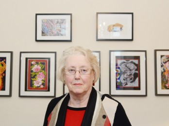 Mum Hosts Exhibition Of Son's Secret Artwork - Which She Unearthed After He Died Of An Overdose