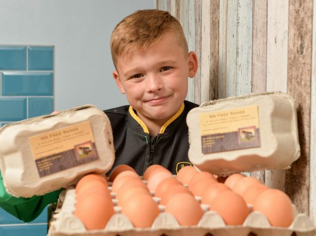 Eight-Year-Old Entrepreneur Earning £13,000-A-Year Delivering Free Range Eggs