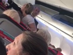 Drunken Hen Party Reveller Picks Fight With Bride To Be In Front Of Fellow Plane Passengers