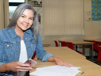 Girl passes GCSES after having heart attack and discovering hole in heart during the exam period