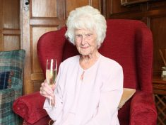 One Of The Oldest People In Britain Turns 111 And Says The Secret Is – A Tot Of WHISKY Every Night