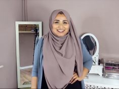 British Muslim Woman Sets Hijab Challenge