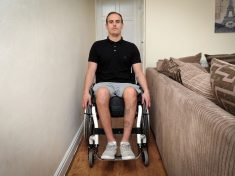 Disabled Man Forced To Be Hosed Down Outside After Council Refuse To Help