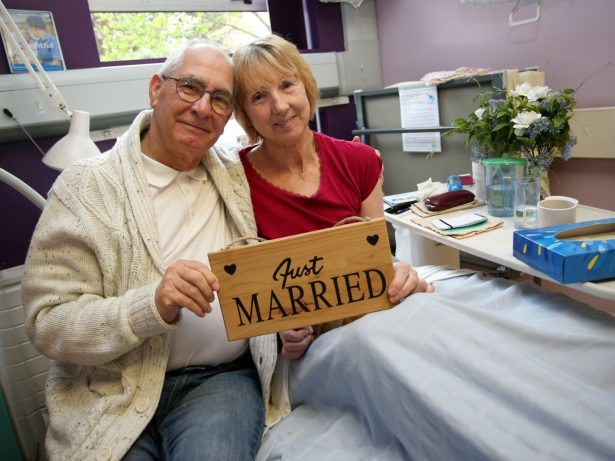 Pensioner Who Proposed 100 Times To His Partner Finally Gets Hitched After She Is Rushed To Hospital