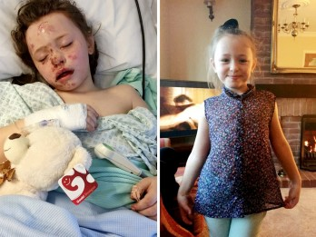 Mum Releases Shocking Picture Of Her Bloodied Daughter Lying In hospital After Being Run Down