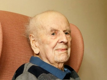 Britain's oldest man, 108, shares his secret to a long life...