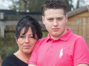 Mum Knew Her Son Had Deadly Brain Tumour - Just By Looking Into His EYES