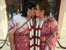 Hindu And Jewish Women Marry In Britain's First Interfaith Lesbian Wedding