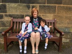 "Mum Tells The Horror Of Discovering Her Daughter Had Cancer After Mistaking Tumour For Playground ""Graze"""