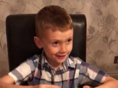 Adorable Video Shows Moment Young Boy Finally Gets Shark Inside Kinder Egg After Eight Months Of Trying