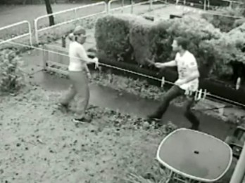 Shocking Knife Duel Between Love Rivals In Stoke Caught On CCTV