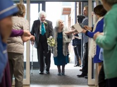 Lady And The Tramp : 89-Year-Old Marries Homeless Man She First Met When He Was Rummaging Through Her BINS