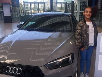 Schoolgirl Flown To Germany To Tour Car Factory After She Asked The Chief Of Audi For A Job