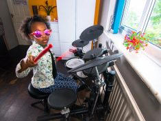 WATCH – Seven-Year-Old Drummer Girl Tipped For Stardom After Going Viral And Earning Stormzy As A Fan!