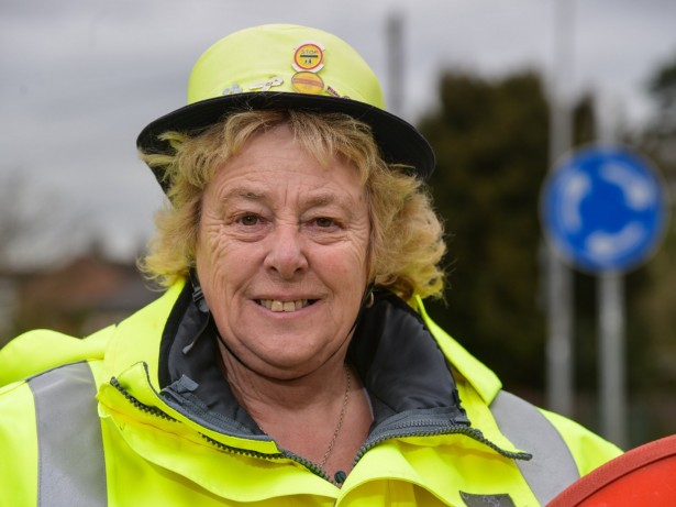 Britain's Most Dedicated Lollipop Lady Who's Crossed The Road One MILLION Times Will Hang Up Her Hi-Vis After 45 YEARS