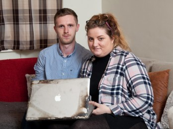 Woman Left Homeless After MacBook Pro Caught Fire And Burnt Down Flat