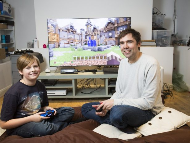Bestselling Author Broke Autistic Son's Silence And Built A Relationship Through Minecraft