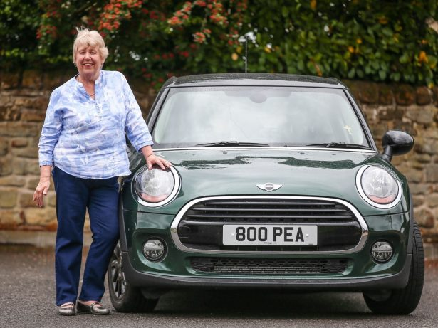 Mini Driver Gran Reunited With Very First Number Plate 44 Years After Selling Beloved Car