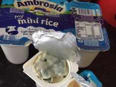 Disgusted Mum Finds Thick Green Mould In 18-Month-Old Daughter's Rice Pudding Treat