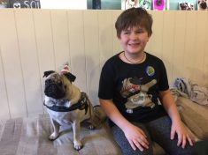 PUGS AND KISSES – Pug Obsessed Autistic Lad Showered With Gifts By Wellwishers