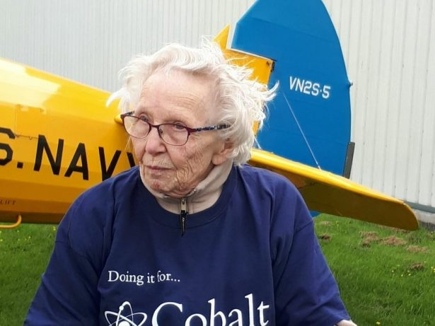 Daredevil Gran Becomes Britain's Oldest Wing-Walker Aged 88!