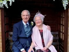 Elderly Lovebirds Become Britain's Oldest Newlyweds And Tie The Knot With Combined Age Of 164