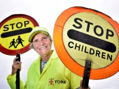 Lollipop Lady Downs Stick For Final Time After 47 Years And 6.5million Steps