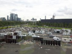 Travellers Accused Of Dumping Tonnes Of Rubbish On Olympic Park Building Site