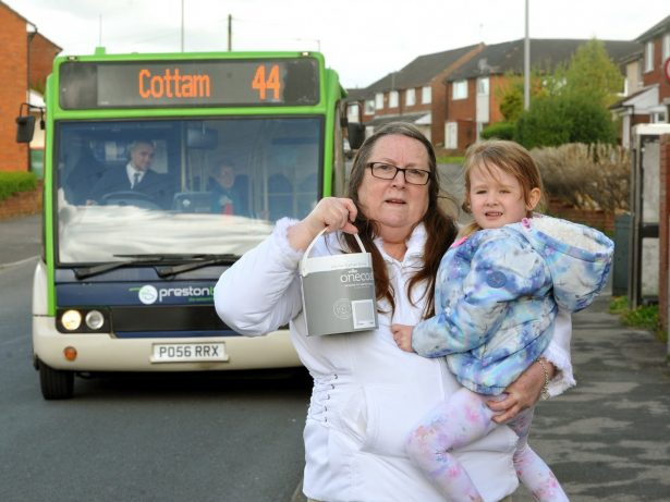 Grandmother Hits Out After Being Thrown Off Bus For Carrying A Pot Of PAINT