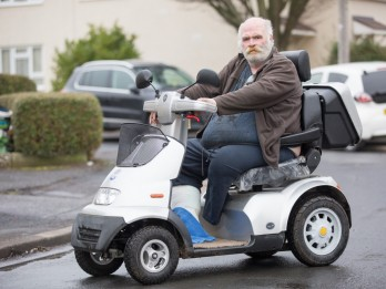 Amputee Granddad Who Drives Mobility Scooter Receives Fine For A 180mph PORSCHE In Mix-Up