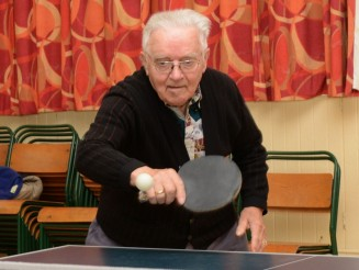 Oldest table tennis coach who learned to play in Second World War POW camp still runs local club at 86-years-old