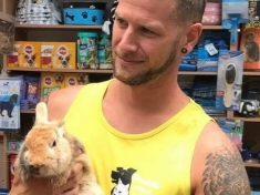 Animal Charity's Facebook Post About Lost Rabbit Swamped By 'Excitable' Women Wanting To Adopt Hunky Sanctuary Supervisor!
