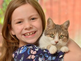 Family Stunned After Missing Cat Turns Up Four Years Later