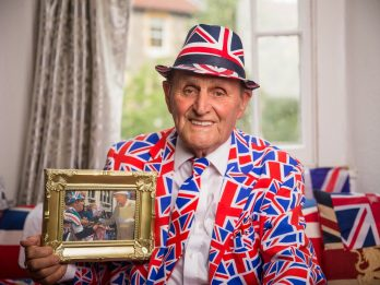 OAP Is World's Biggest Royal Family Fan And Has Met The Queen More Times Than Any Other Member Of Public