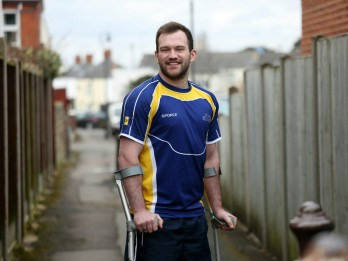 Rugby Player Back On The Pitch Nearly Two Years After His Last Game - When He Was PARALYSED In A Tackle