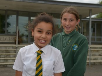 Two Young Friends Awarded For Not Missing A Day Of School In Seven Years