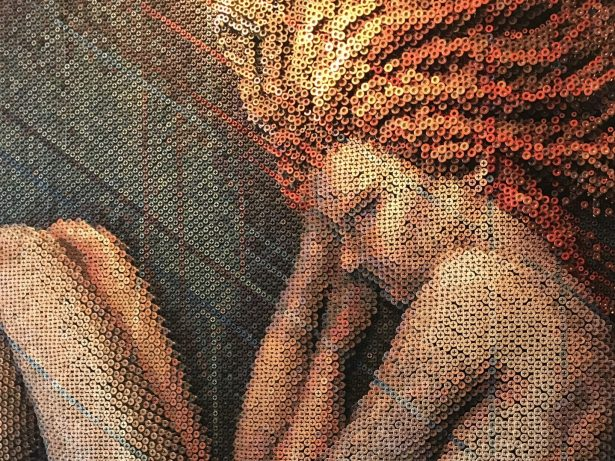 Artist Uses Thousands Of Screws To Create Stunning Masterpieces