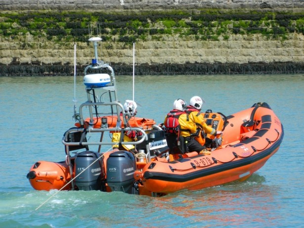 Lifeboat called to rescue floating sofa