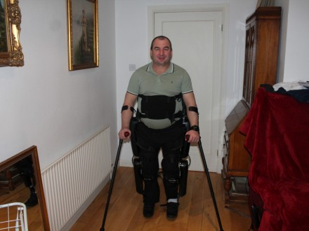 Builder Paralysed In 30ft Horror Fall Walks Again Thanks To £50k Robot Legs