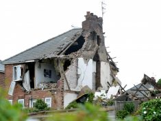 """""""A Fridge Saved Her Life"""" : Woman Has Miracle Escape As Suspected Gas Blast Destroys Home"""