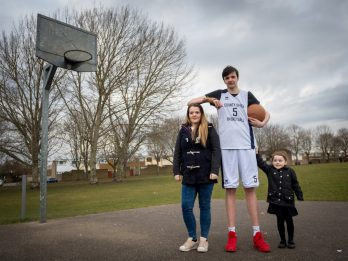 Meet Britain's Tallest Teenager - Standing At An Incredible 7ft 4ins