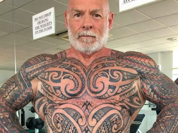 Bodybuilder Who Wanted Tattoo Cover Up Got Hooked And Ended Up With £5k Body Suit